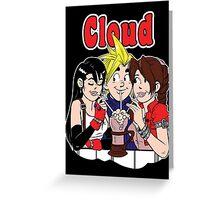 Cloud Comics Greeting Card