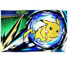 Pikachu | Volt Tackle Poster