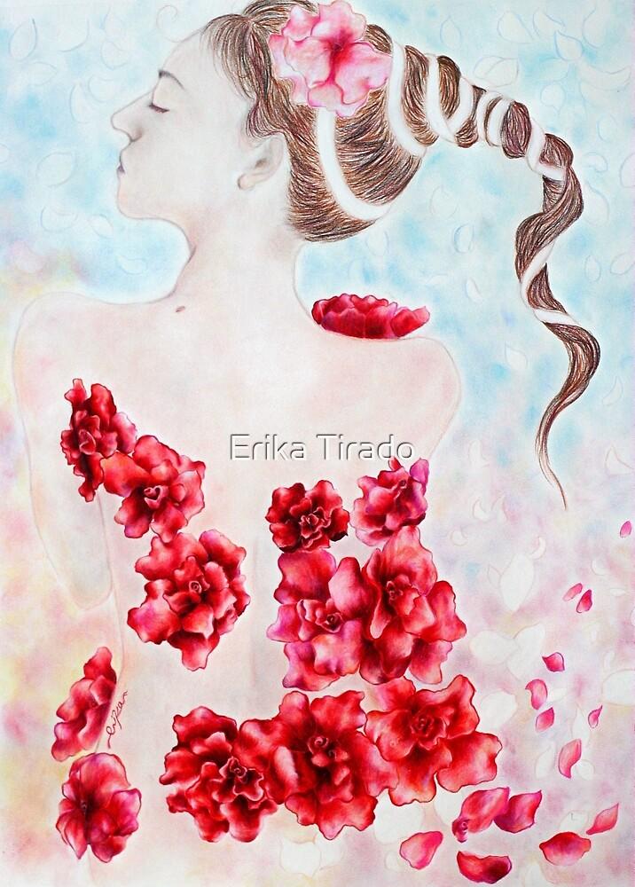 La Fleur Rouge by Erika .