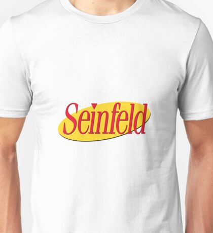 Seinfeld Stickers Unisex T-Shirt