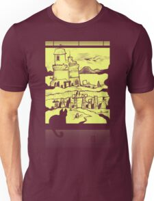 Adventure Awaits (Yellow) Unisex T-Shirt