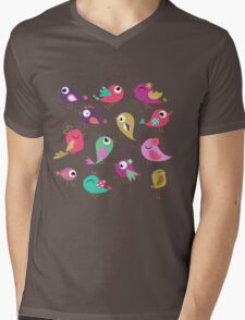 Spring Society Mens V-Neck T-Shirt
