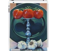 Tomato and Garlic iPad Case/Skin