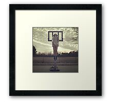 Stuck In Suburbia Framed Print
