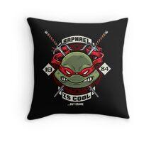 A little TOO Raf! Throw Pillow