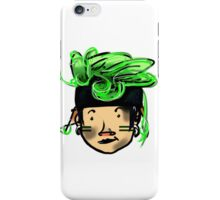 green hair  iPhone Case/Skin