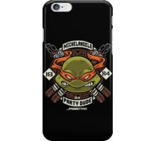 Mikey Party! iPhone Case/Skin
