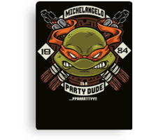Mikey Party! Canvas Print