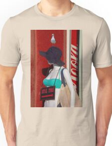 The Mannequin and the Seagull Unisex T-Shirt