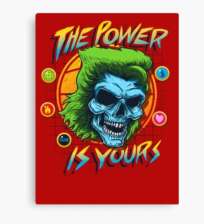 The Power is Yours Canvas Print