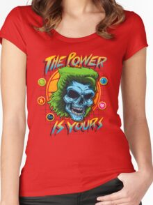 The Power is Yours Women's Fitted Scoop T-Shirt