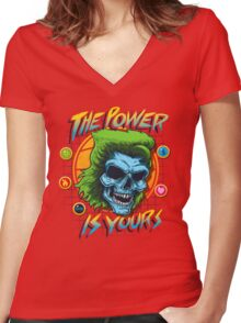 The Power is Yours Women's Fitted V-Neck T-Shirt
