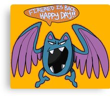 Game Grumps Golbat Canvas Print