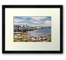 Indian Harbour Framed Print