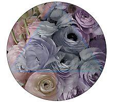 Flowers for Ellie - Geometric Pastel Photographic Print