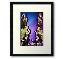 The Zaibatsu Framed Print