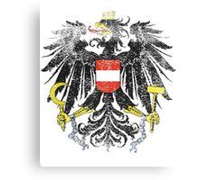 Austrian Coat of Arms Austria Symbol Canvas Print
