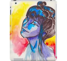 Lady In The Water(Color) iPad Case/Skin