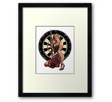 Bulls-Eye Framed Print