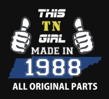 This Tennessee Girl Made in 1988 by satro