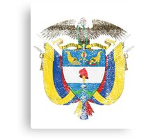 Colombian Coat of Arms Colombia Symbol Canvas Print