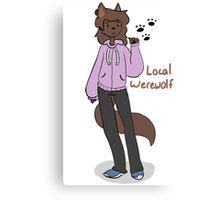 Local Werewolf Canvas Print