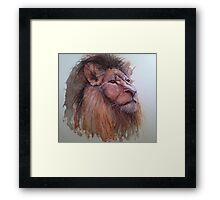 I am Lion - King of Africa Framed Print