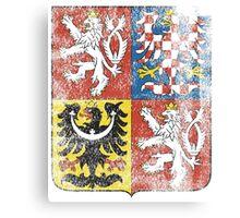 Czech Coat of Arms Czech Republic Symbol Canvas Print