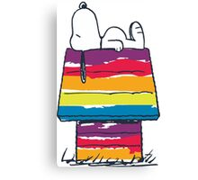 rainbow snoop Canvas Print