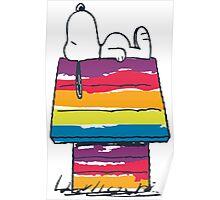 rainbow snoop Poster