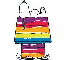 rainbow snoop Photographic Print