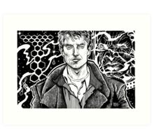 TORCHWOOD - CAPTAIN JACK Art Print