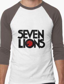 7 lions Men's Baseball ¾ T-Shirt