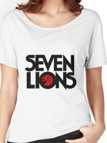 7 lions Women's Relaxed Fit T-Shirt