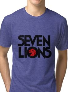 7 lions Tri-blend T-Shirt