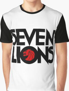 7 lions Graphic T-Shirt
