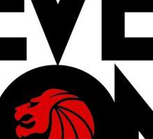 7 lions Sticker