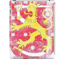 Finish Coat of Arms Finland Symbol iPad Case/Skin
