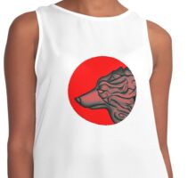 Wolf of Japan Contrast Tank