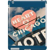 Heart of Chicago 1 iPad Case/Skin