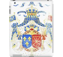 French Coat of Arms France Symbol iPad Case/Skin