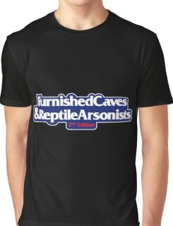 Furnished Caves And Reptile Arsonists Graphic T-Shirt