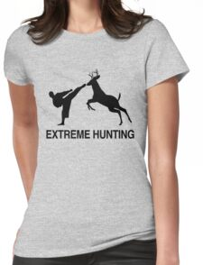 Extreme Hunting Cool Womens Fitted T-Shirt
