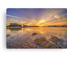 LA Sunrise  Canvas Print