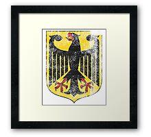 German Coat of Arms Germany Symbol Framed Print