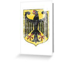 German Coat of Arms Germany Symbol Greeting Card