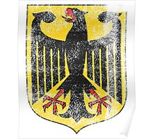 German Coat of Arms Germany Symbol Poster