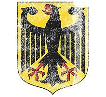 German Coat of Arms Germany Symbol Photographic Print