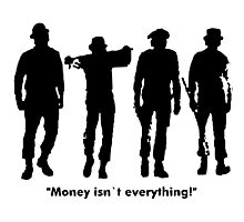 Clockwork Orange Money Isn't Everything! Photographic Print