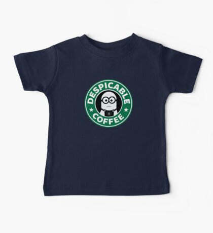 Despicable Coffee Baby Tee